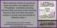 #FuturisticFriday review of Lethal Lifestyles by LynDee Walker. #books #Virginia #mystery #reporters #series #HeadlinesInHighHeels  (scheduled via http://www.tailwindapp.com?utm_source=pinterest&utm_medium=twpin&utm_content=post113068317&utm_campaign=scheduler_attribution)