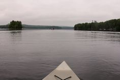 Big Indian Lake view from my kayak Saint Albans Maine