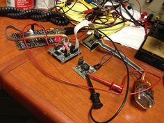 Building a retro modern Nixie clock with Atmel's ATmega48.  #ATmel #ATmega48 #DIY #Makers #MakerMovement #HackADay