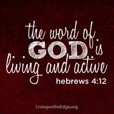 Hebrews 4:12