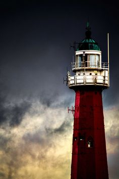 Landscape photography. A Lighthouse in Hague on a gloomy day, from my last visit in Netherlands