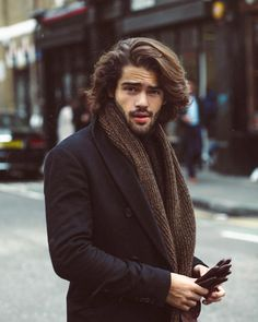 | 13 Drop-Dead Gorgeous Long Hairstyles For Men 2018 #LongHairstyles