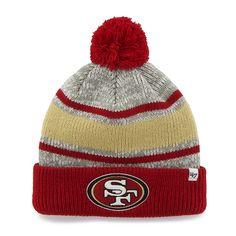 hot sale online 69eb8 94fd5 San Francisco 49Ers Palmer Cuff Knit Gray 47 Brand Hat
