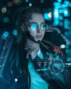Neon Photography, Japanese Photography, Portrait Photography, Cyberpunk Kunst, Cyberpunk Girl, Cyberpunk Fashion, Girl Pictures, Girl Photos, Cyberpunk Aesthetic