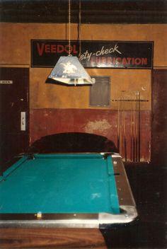 Pool hall baby