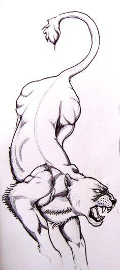 lioness_tattoo_design__phase_1_by_13_pretty_pistols.jpg (975×2193)