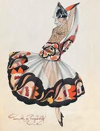 ballet russe costumes - Google Search