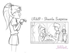 The is official concept art of Auriana from Lolirock found at teamlolirock.tumblr.com.