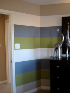 4 color stripe pattern