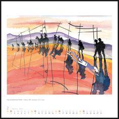 Ver calendario del los dibujos del camino...