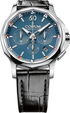 Corum Watch Admirals Cup Legend 42 Chronograph  add-content  bezel-fixed… 9e31d67e9a