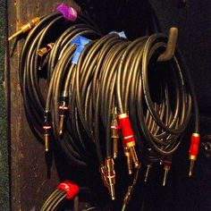 Just a pile of kick-ass cable at the Monster testing studio. Old school Monster Rock, M Bass, M Acoustic, M Rock put through the ringer at a bunch of Monster jams. Videos to follow. #monster #monstercable #monsterproaudio #guitarcable #cable #studio #jam #jamspace #monsterrock