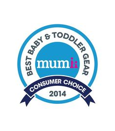 Best Baby and Toddler Gear Consumer's Choice award for the Shnuggle bath