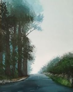 Painting - My hobby - Virily Love Painting, Landscape Paintings, Past, My Arts, Country Roads, Past Tense, Landscape Drawings