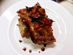 A Cozinha da Ovelha Negra: Entrecosto no forno com laranja e mel / Porc ribs ...