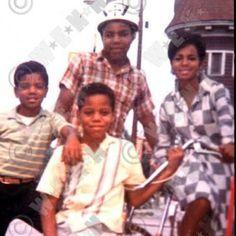 Michael, Tito, Rebbie, and Marlon Jackson.