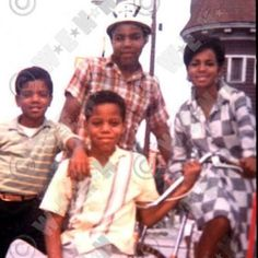 Michael, Tito, Rebbie, and Marlon Jackson.