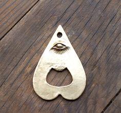 mystical bottle opener - $75 - brass