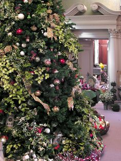 You won't believe the decadent holiday splendor when you step inside the historic House.