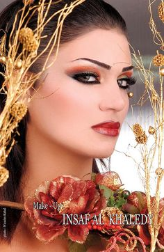 arab hair and makeup