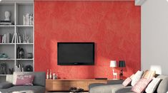 Living Room Wall Painting Designs For Hall - Living Room : Hardrawgathering. Living Room Images, Design Living Room, Living Room Paint, Living Room Colors, Living Room Decor, Asian Paints Wall Designs, Asian Paint Design, Paint Designs, Drawing Room Paint