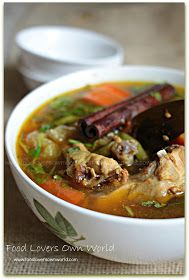 """C hicken """"ishtu/ishtoo"""" or bengali version of stew is really simple healthy and tasty. This is a dish you will love when dieting...when y..."""
