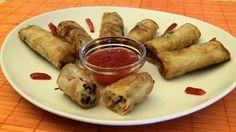 Idealne sajgonki dla wegetarian. Bardzo prosty przepis na typowe wietnamskie sajgonki z warzywami