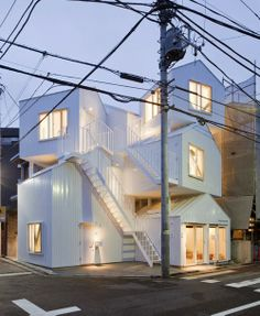 This is visually appealing and a cheap way of housing too