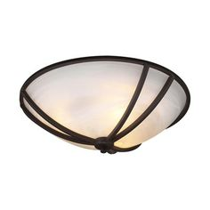 PLC Lighting 1486 Highland Flush Mount Ceiling Light