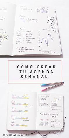 Cómo crear tu agenda semanal (claves en español)