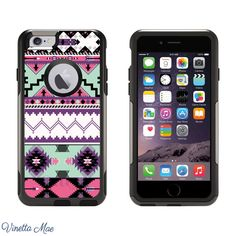 iPhone Otterbox Commuter Series Case for iPhone 6 Aztec Tribal Women Girls Phone Case Otter Box 1124 by VinettaMae on Etsy https://www.etsy.com/listing/208851449/iphone-otterbox-commuter-series-case-for