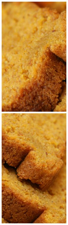 Pumpkin Sour Cream Bread ~ Moist and delicious... It is a perfect recipe to add to your fall collection.