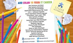 Add Color To Your IT Career  We're looking for Javascript/ Java Web Developer, Application Performance/ QA Tester, Linux Systems Engineer and more!  Visit our website http://sysgen.com.ph/it-job-openings-philippines/ for the complete list and job details.