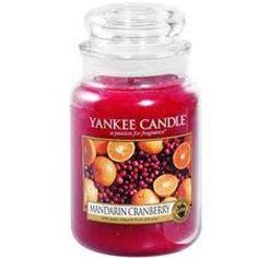 Yankee Candle Mandarin Cranberry  Housewarmer Jar