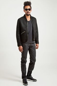 Acne Richter Shearling Bomber.