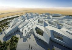 Research center by zaha hadid
