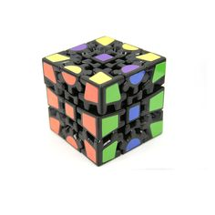 Gear Cube - The Gear Cube is a brand new concept in cube design that offers an array of inventive steps to help you solve the puzzle in fun and interesting ways!