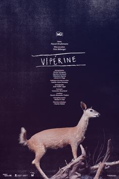 Poster - Vipérine - Theater / repinned on Toby Designs