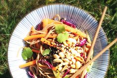 Spicy soba noodle salad – Recipes – Bite - Formerly Foodhub.co.nz