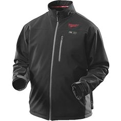 80d50cc5145 Milwaukee X-Large Lithium-Ion Cordless Black Heated Jacket Kit (Battery and  Charger - The Home Depot