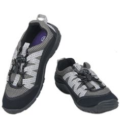 Northside Women's Brille II Water Shoes | On Swim Outlet for $14.95 | Life's full of adventures, so explore it with your Northside® Women's Brille II Water Shoes.  Neoprene upper with mesh for breathability. Elastic drawstring lacing for convenience and a secure fit. 5mm brushed EVA insole for comfort. Injected TPR provides exceptional traction and durability.