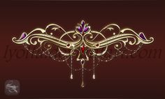 Design Golden diadem PNG ~1660x785 px transparent background without labels Sale for the use of any personal or commercial purposes in the framework of the license Royalty Free.