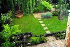 10 Beautiful Hacks: Small Perennial Garden Ideas backyard garden how to grow.Backyard Garden… - All About Contemporary Garden Design, Home Garden Design, Small Garden Design, Modern Contemporary, Modern Beds, Interior Garden, Contemporary Landscape, Small Gardens, Outdoor Gardens