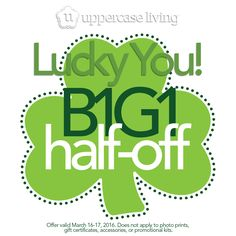 Lucky You!!!! B1G1! Questions? Need Help? Contact me! #WhenWallsTalk #UL #StPatricksDay #Sale