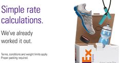 Introducing FedEx One Rate, simple flat rate shipping with the reliability of FedEx.