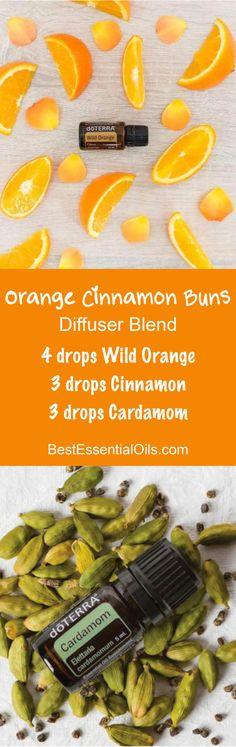 Orange Cinnamon Buns doTERRA Diffuser Blend