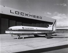 Lockheed L1011 of Eastern Airlines, at the assembly plant