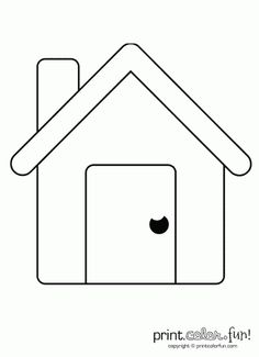 Building with windows printable  Coloring book pages  Pinterest