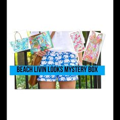 Lilly Pulitzer Mystery Box! Beach living mystery box is the what you need to get this years best looks! All we need to know is your size, your favorite colors and what clothes you are looking for down in the comments.   Small Box (3-4 items)$90 - $170 Medium Box (4-6 items) $200 -$330 Large Box (7-10 items) $350 - $500   Items in your box could be: dresses, skirts,phone case, bag/wristlet,shorts, shirt Also vintage Lilly!!! New and used!! Less on merc DONT BUY THIS LISTENING WE WILL MAKE A…