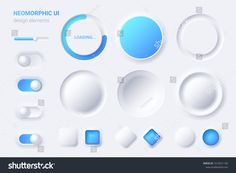 Find Neomorphic Ui Ux White Design Elements stock images in HD and millions of other royalty-free stock photos, illustrations and vectors in the Shutterstock collection. Flat Design Icons, App Icon Design, Ui Ux Design, Interface Design, Design Trends, Industrial Design Portfolio, Portfolio Design, Ui Elements, Design Elements